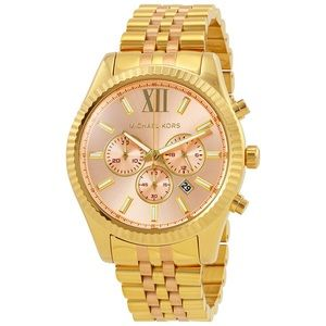 🌸 Michael Kors Lexington Chronograph Watch 🌸